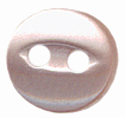1/4'' - Peachy Pink - 2 Hole Button-0