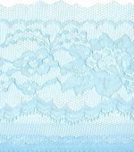 4'' Light Blue Lace with Selvage -0