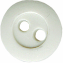 7/16'' -  Light Grey Rubber - 2 hole Button7/16'' -  Light Grey Rubber - 2 hole Button 2 hole buttons
