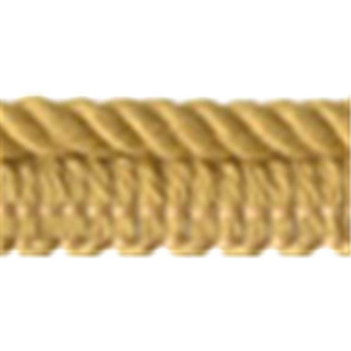 "3/16"" Cord with 3/8"" Lip - Gold"