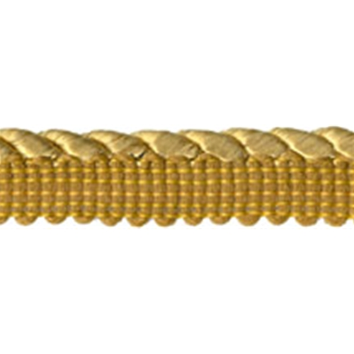 """3/8"""" Cord with 1/2"""" Lip - Gold"""