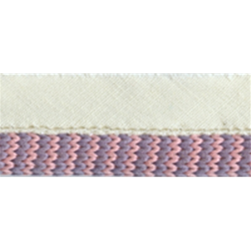 """3/8"""" Piping with 3/8"""" lip - Blue/Pink"""