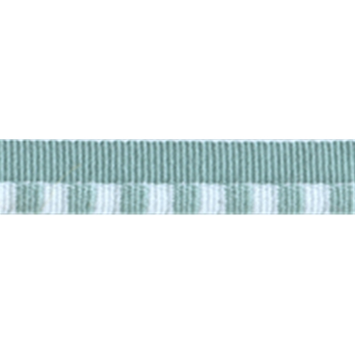"3/16"" Striped Piping with 1/4"" lip - Sage/White"