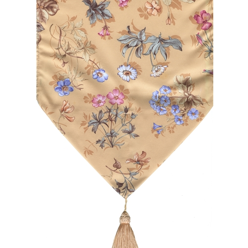 """Pascal Decorative Runner with Tassels - 13"""" x 52"""" Decorative Runner with Tassels"""