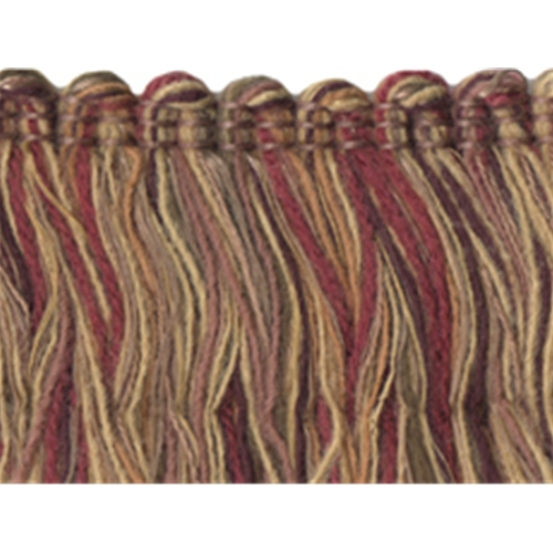 "1 3/4"" Mingled Colored Brush Fringe"