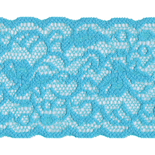 5 Yards,Turquoise Color Lace,Soft stretch elastic lace trim For Bra Lingerie
