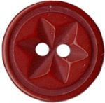 5/8'' - Maroon 2 Hole Button.5/8'' - Maroon 2 Hole Button. 2 hole button