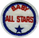 Baby All Star Patch - Red, Blue - 2