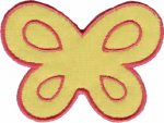 3 1/2'' by 2 5/8'' - Butterfly Applique3 1/2'' by 2 5/8'' - Butterfly Applique butterfly applique