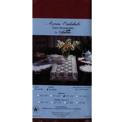 "14"" by 52""- Table Runner Acorn Oakdale - 7 Colors"