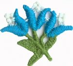 1 1/4'' by 1 1/8'' Flower Applique1 1/4'' by 1 1/8'' Flower Applique