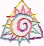 3 3/4'' by 3 3/8'' Iron On Multi Colored Pastel Sun Applique3 3/4'' by 3 3/8'' Iron On Multi Colored Pastel Sun Applique iron on star