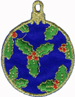 1 1/2'' by 2'' Iron On Ornament Applique1 1/2'' by 2'' Iron On Ornament Applique
