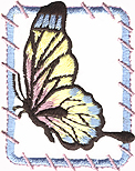 1 3/4'' by 2 1/8'' Iron On Butterfly Applique1 3/4'' by 2 1/8'' Iron On Butterfly Applique butterfly applique