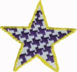 3'' Iron On Star Applique - Purple, Pink3'' Iron On Star Applique - Purple, Pink iron on star