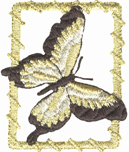 1 3/4'' by 2 1/8'' Metallic Butterfly Applique1 3/4'' by 2 1/8'' Metallic Butterfly Applique butterfly applique