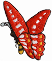 1 3/8'' by 1 3/8'' Butterfly Applique1 3/8'' by 1 3/8'' Butterfly Applique butterfly applique