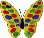 3 1/8'' by 2 3/4'' Iron On Butterfly Applique3 1/8'' by 2 3/4'' Iron On Butterfly Applique butterfly applique