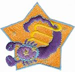2 1/4'' Zodiac Sign Scorpio Iron On Applique2 1/4'' Zodiac Sign Scorpio Iron On Applique ' Zodiac Sign Scorpio