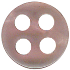 7/16'' - 4 Hole  - Button7/16'' - 4 Hole  - Button 4 hole button