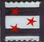 2'' by 2'' Iron On Star Applique.2'' by 2'' Iron On Star Applique. Iron On Star Applique.