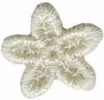 3/4'' Natural Venice Flower/Star Applique.3/4'' Natural Venice Flower/Star Applique. star applique, venice applique