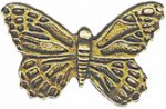 7/8'' by 1/2'' Metal Shank Butterfly Button.7/8'' by 1/2'' Metal Shank Butterfly Button. Metal Shank Button