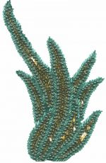 5 1/4'' by 7 1/2'' Beaded & Sequined Applique5 1/4'' by 7 1/2'' Beaded & Sequined Applique