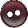 3/8'' - Eggplant 2 Hole Button.3/8'' - Eggplant 2 Hole Button. 2 hole button