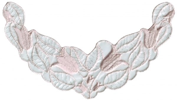 """7 1/2"""" by 4 1/4"""" Pastel Pink Organza Applique. animal appliqués, animal patches, appliques, Beaded Butterfly Appliques, beaded lace appliques, beaded sequin appliques, bear patches, cheep trims appliques, cheeptrims patches, christmas patches, Craft Stores, easter egg appliques, emblem patches, etsy venice lace appliqués, Eyelet lace appliqués, hobby lobby, Iron on appliques, iron on butterfly patches, Iron on fish patches, iron on letters, iron on numbers, iron on patches, iron on satin patches, iron on words, jo ann fabric stores, JOANN Fabric, lace iron on patches, lace patches for jeans, metallic appliques, nautical patches, netting appliqués, novelty patches, organza appliqués, organza beaded/sequin appliqués, Patches, Sequin butterfly appliques, sew on appliqués, sew on patches, shoe laces, sport applique, sports patches, Venice Lace Appliques, wedding lace appliques, zippers"""